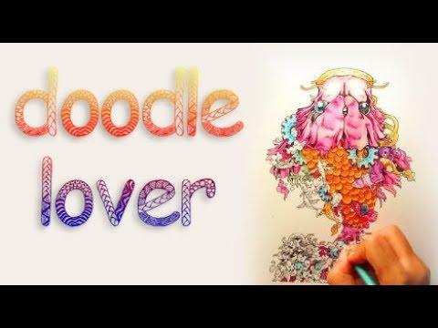 Doodle Invasion Zifflins Coloring Book Speed Edit 32x