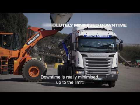 Reinhardt Transport in partnership with Scania