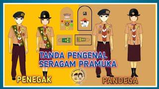 Gambar cover TANDA PENGENAL SERAGAM PRAMUKA PENEGAK DAN PANDEGA