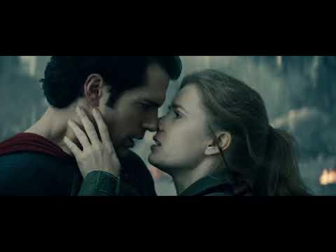 Man Of Steel 2013 romantic Scene Between Clark Kent & Lois Lane