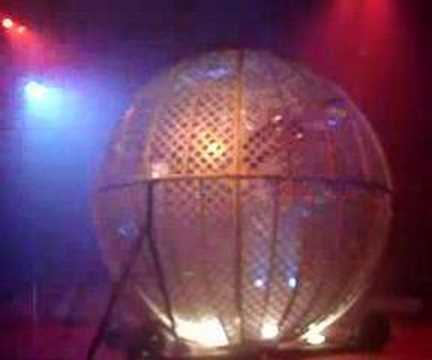 """globe of death  by diorio""""s team new zealand"""