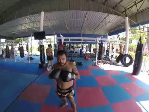 Muay Thai Pad Course at Phuket Top Team