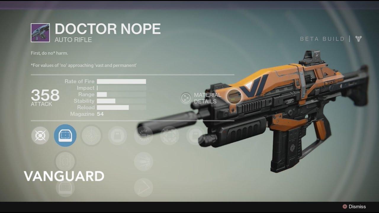Destiny - Vanguard Weapons, Crucible Weapons, & Legendary ...  Legendary