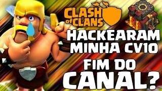 ROUBARAM MINHA CONTA NO CLASH OF CLANS (MINHA CV10) TUDO ACABA POR AQUI??? - Clash Of Clans