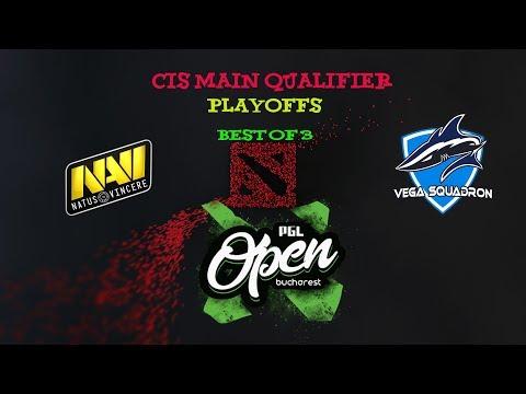 [DOTA 2 LIVE] Navi vs Vega - Playoffs - Main Qualifier - PGL Minor