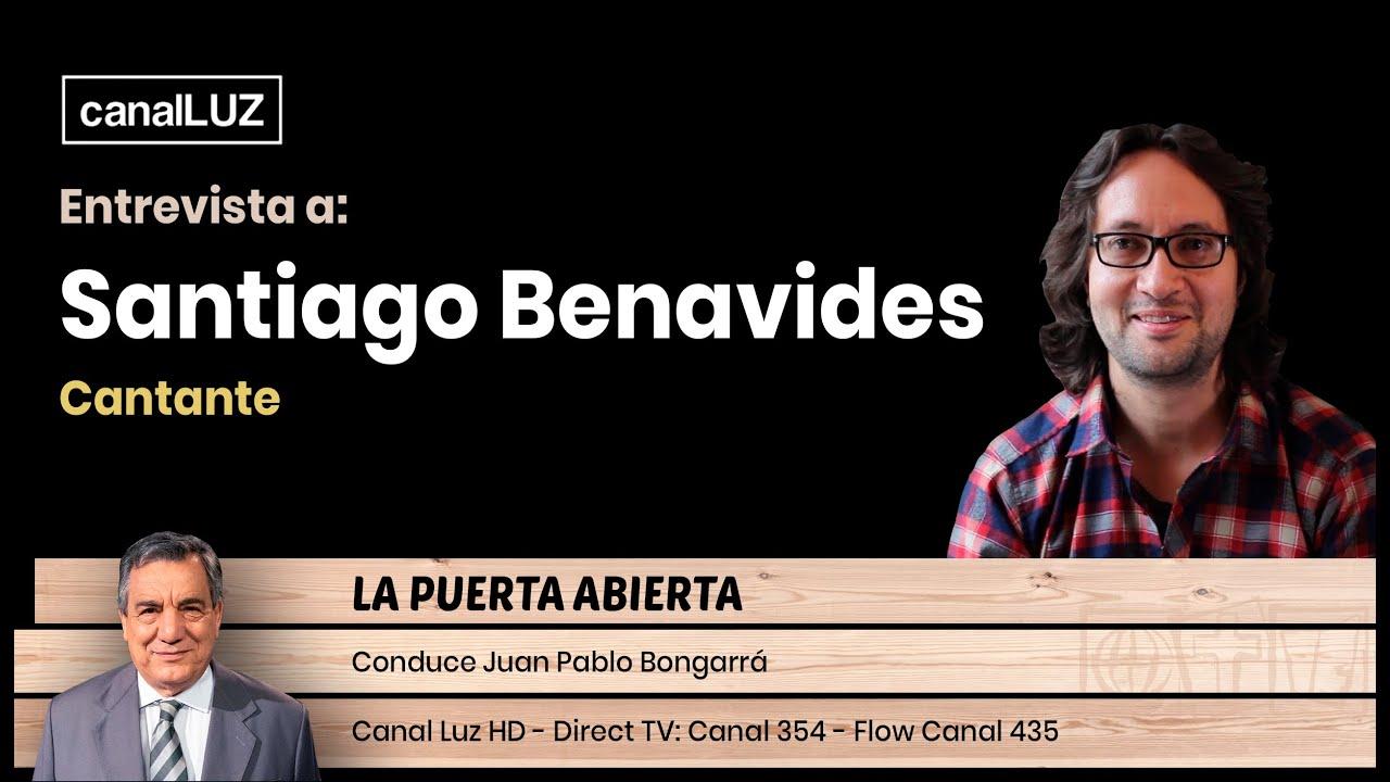 Entrevista a Santiago Benavides - Cantante