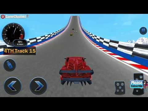 Impossible Car Crash Stunts Car Racing Game / Android Gameplay Video #4