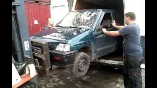 Daewoo Tico vs Peugeot Boxer