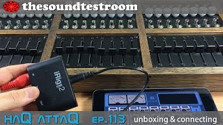 IK Multimedia iRig MIDI 2 for iPad │ unboxing and connecting - haQ attaQ 113