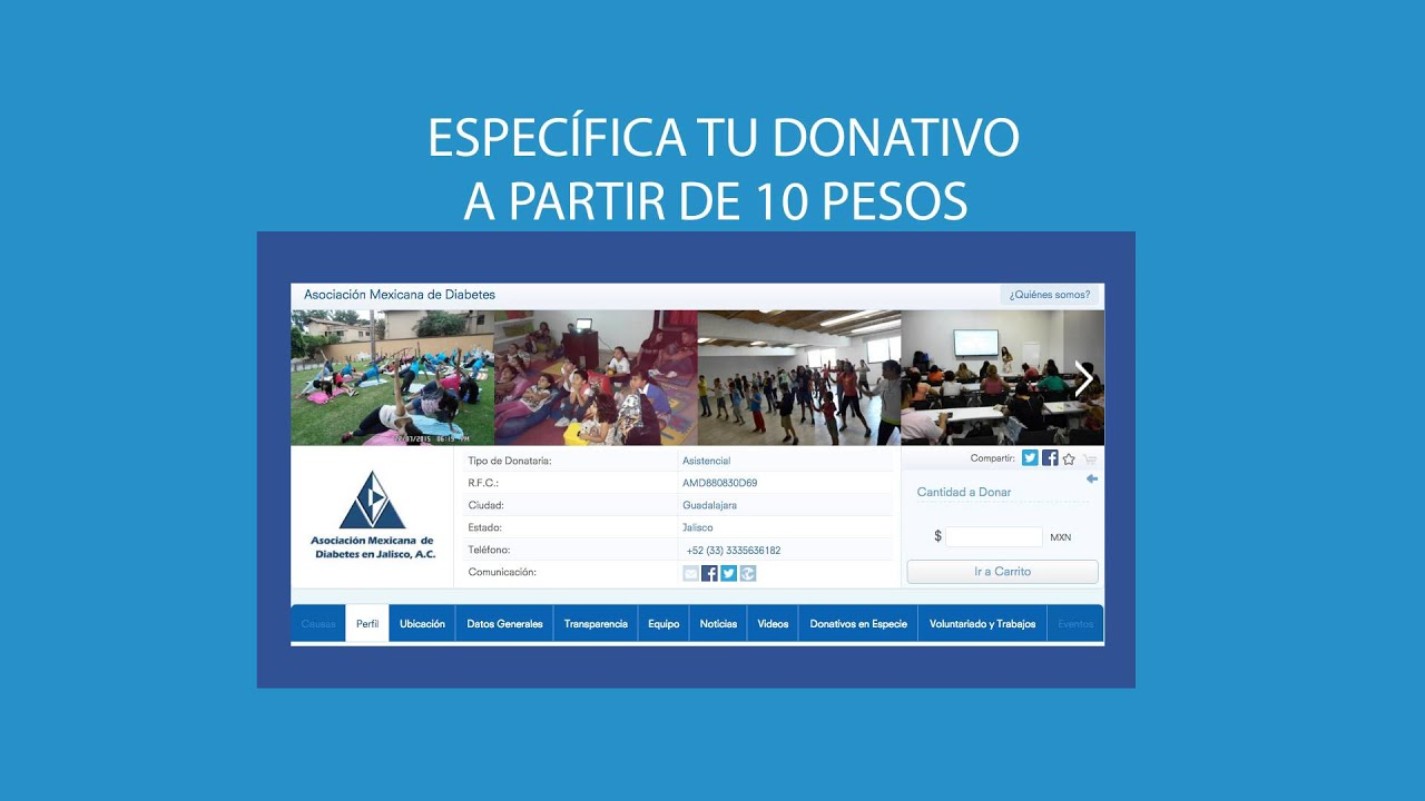 asociación mexicana de diabetes en jalisco ac