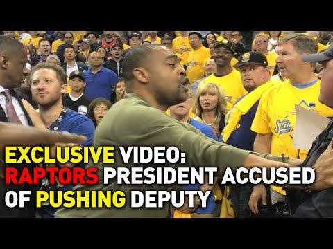 Raptors President Masai Ujiri Accused of Pushing, Hitting Deputy at NBA Finals