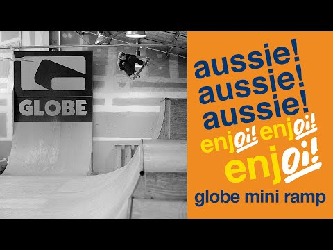 enjoing the globe mini ramp