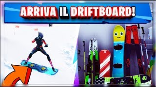TOMORROW COMES THE DRIFTBOARD! NEW FORTNITE VEICOLO! PATCH 7.1!