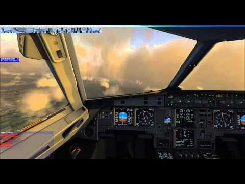 Takeoff Oslo - Landing Bergen (FSX, As real as it gets)