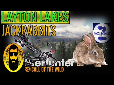 Layton Lakes Jackrabbit Group Hunt in theHunter Call of the Wild 2018
