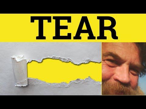 Tear Phrasals Tear Up Meaning Tear Away Explained Tear Into Defined Tear Apart Examples Tear Off