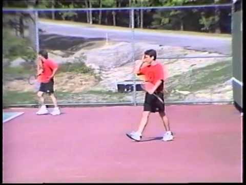 1997 High School Boy's Tennis South Sectional State Final (Wellesley vs Sharon)