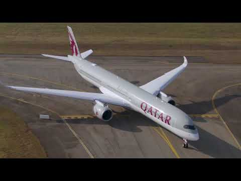Taking flight with the first Airbus A350-1000 in Qatar Airways livery