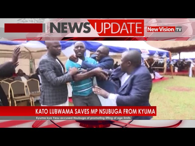 Kato Lubwama saves MP Nsubuga from Kyuma
