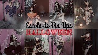 Escola de Pin Ups Halloween -Be a Bombshell