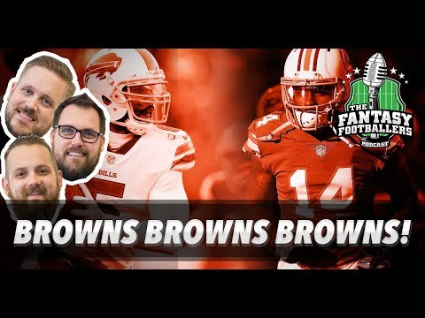 Fantasy Football 2018 - Browns Browns Browns! Free Agency + Big News - Ep. #530