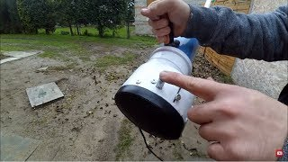 #10 Air blower from trash DIY.