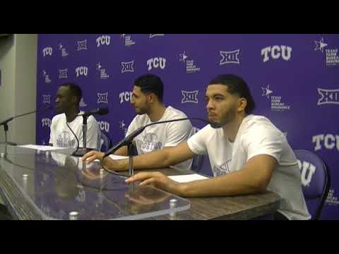 TCU players discuss 90-70 win over Oklahoma State