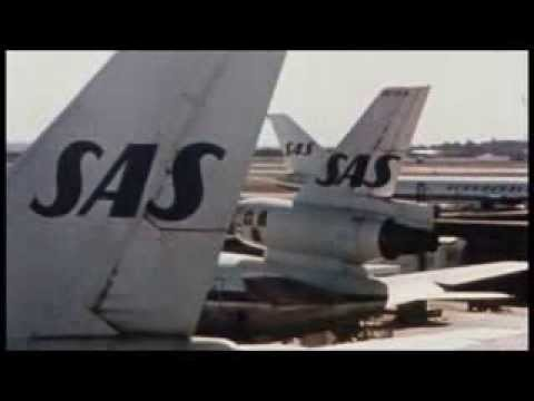 SAS Scandinavian Airlines System Boeing B747 Commercial