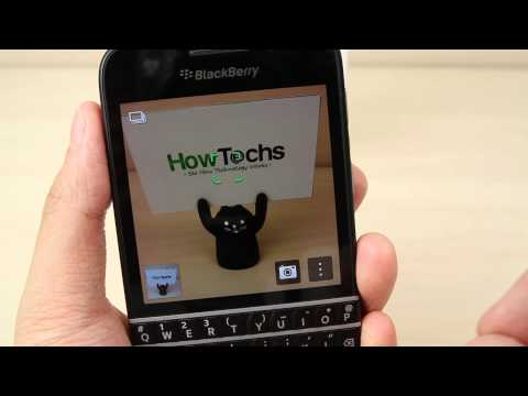 How To Use The Camera Or Camcorder On Blackberry Q10