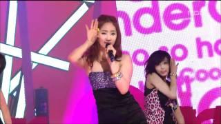 Wonder Girls - So Hot, 원더걸스 - 쏘 핫, Music Core 20080607