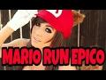 CARRERA EPICA MARIO RUN!!! Y DESBLOQUEO MUNDOS GRATIS!!!