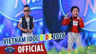 vietnam idol kids - than tuong am nhac nhi 2016 - tap 3 - dam cuoi chuot -  gia hung  viet anh