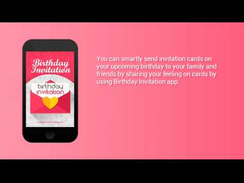 Birthday invitation youtube stopboris Gallery