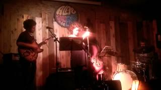 Banda de Jazz en Alas, salas de ensayo.