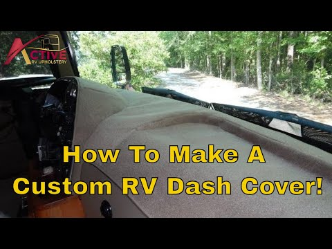 How To Make/order A Dash Cover For Your Motorhome