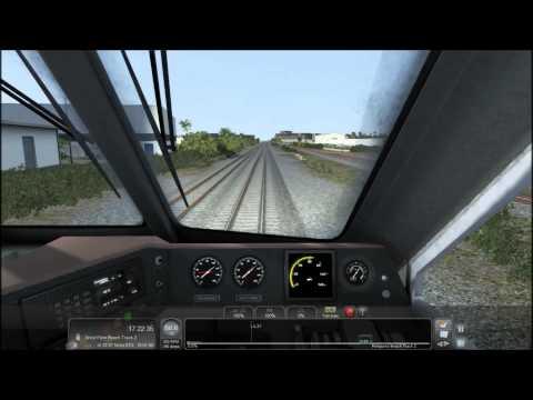 TS2015 HD: Surfliner EMD F59PHI Tri-Rail Express Service (Miami - West Palm Beach) Timelapse 4x