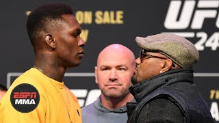Best of Israel Adesanya and Yoel Romero at the UFC 248 press conference | ESPN MMA