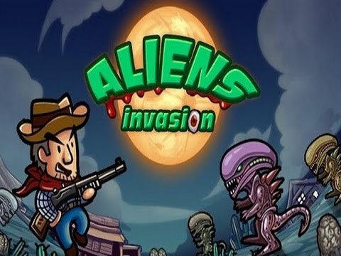 Aliens Invasion -- Amazing Alien Game for Android Devices