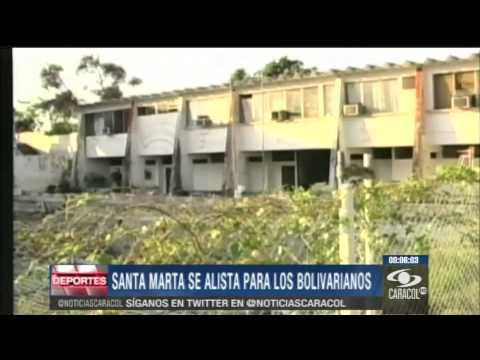 Santa Marta ya se prepara para los Juegos Bolivarianos 2017 - 17 de Diciembre de 2013