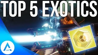 Destiny 2: top 5 exotic weapons