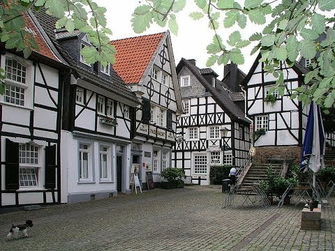 Places to see in ( Essen - Germany ) Old Town Kettwig