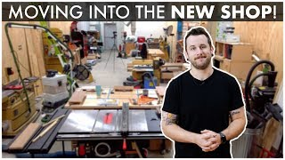 Building My Shop : Installing Doors, Trim, & MOVING INTO THE SHOP!