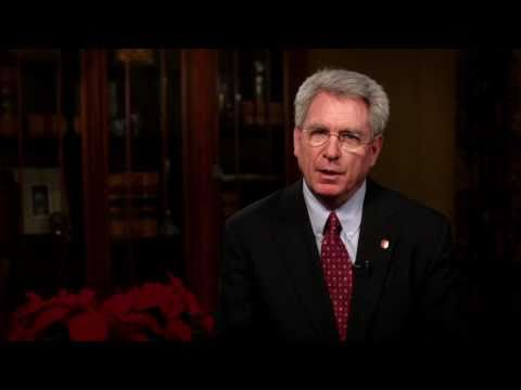 2010 Holiday Message from Chancellor Dan Jones
