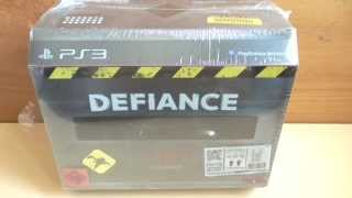Unboxing Defiance Collectors Edition [Playstation 3] (german)