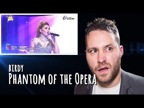 Super Star TTV Birdy sing's Phantom Of The Opera | REACTION