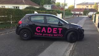 Auto Ecole Cadet - Permis Auto - Demi tour en plus de 3 temps