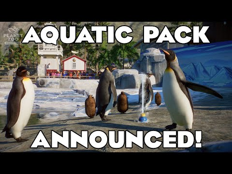 Planet Zoo Aquatic Pack RELEASE ANNOUNCEMENT! 🐧 |