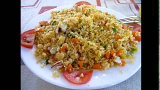 Рис с морепродуктами в кафе В Нячанге(Вьетнам) ноябрь 2016