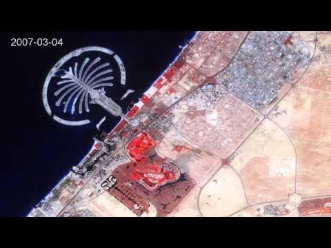 The Rapid Urbanization of Dubai, 2000-2011