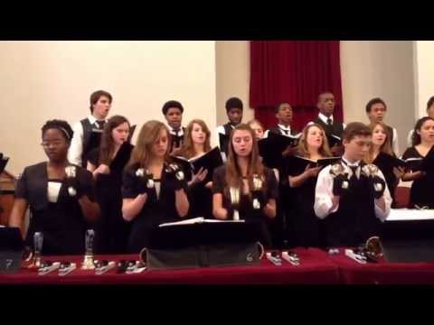 Mount Vernon Academy performs Cornerstone at Chillicothe seventh day Adventist church 2/2014
